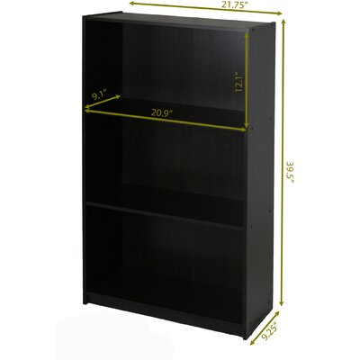 Furinno 3 Shelf Storage Shelves Cabinet Bookcase Bookshelf