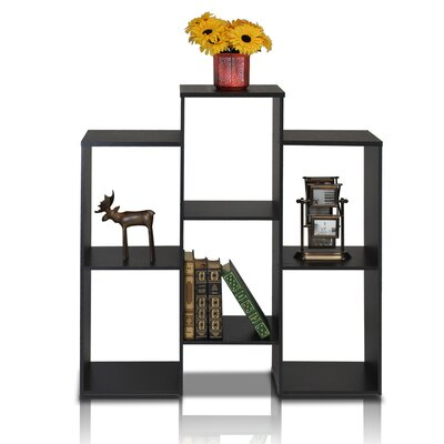 "Furinno Parsons Staggered Cube 35.7"" Bookcase"