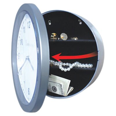 <strong>Trademark Global</strong> Wall Clock Safe