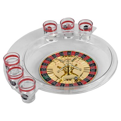 Trademark Global Spins Roulette Drinking Game