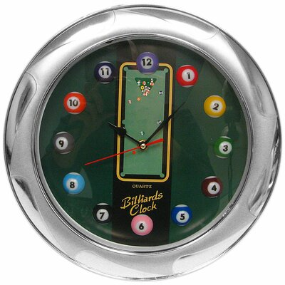 Quartz Movement Billiard Wall Clock
