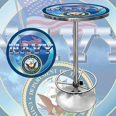 Trademark Global US Navy Pub Table
