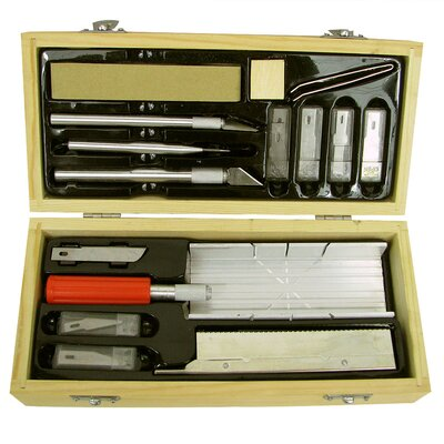 Trademark Global Ultimate Hobby Knife and Miter Saw Cutting Craft Set