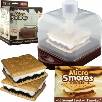 Micro S'mores Maker with Recipe Guide