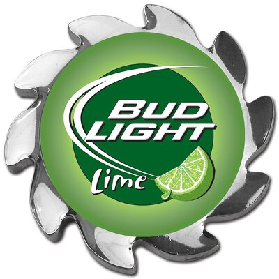 Trademark Global Bud Light Lime Spinner Card Cover in Silver
