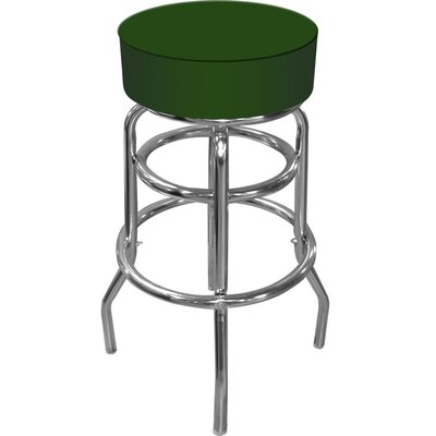 "Trademark Global 30"" Swivel Bar Stool with Cushion"