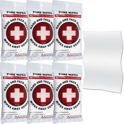 Trademark Global First Aid Disinfecting Wipes
