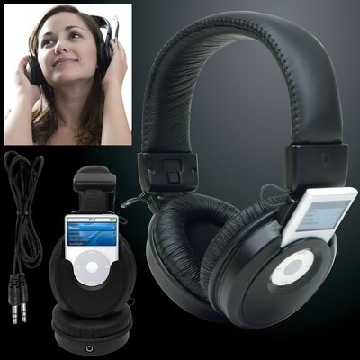 Trademark Global iPod Nano Headset Headphones Music Player