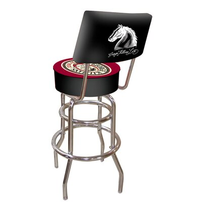 George Killian Irish Bar Stool with Cushion