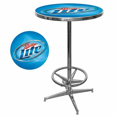 Trademark Global Miller Lite Pub Table