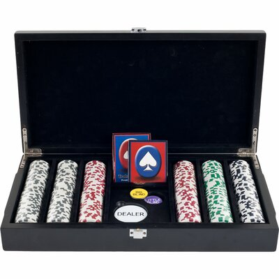 4 Aces Poker Chip in Las Vegas Sign Case