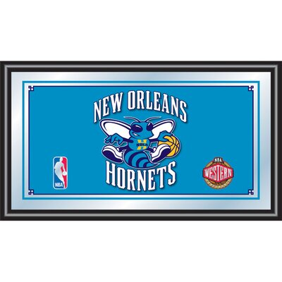 Trademark Global NBA Framed Logo Mirror