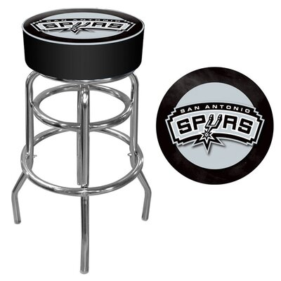 "Trademark Global 31"" NBA Padded Swivel Bar Stool with Cushion"