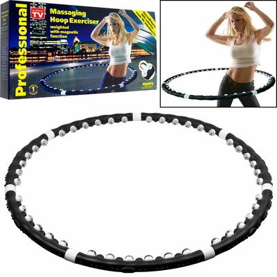 Trademark Global Acu-Hoop Pro Massaging Hoop Exerciser