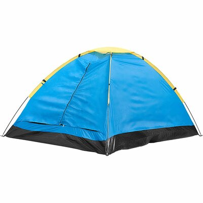 Trademark Global Happy Camper Two Person Tent with Carry Bag
