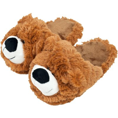 Cuddlee Pet Kids Slippers - Teddy Bear