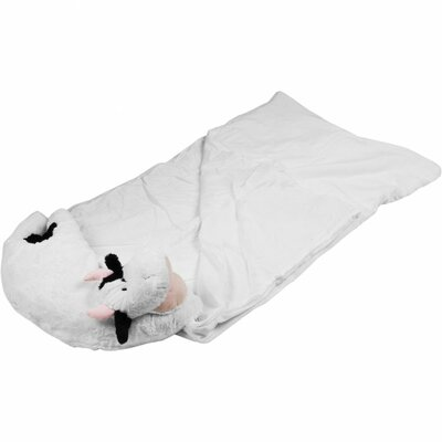 Trademark Global Kids Pet Pillow Sleeping Bag Combo by Happy Camper