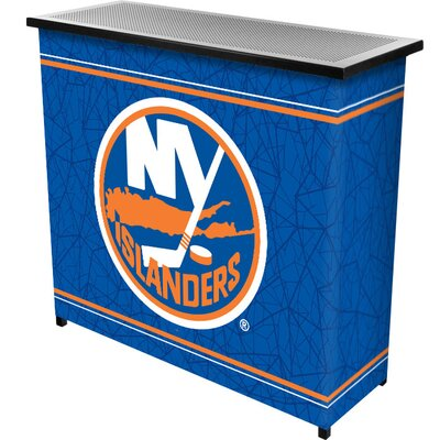 Trademark Global NHL 2 Shelf Portable Bar with Case