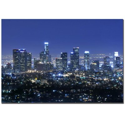 Trademark Global Los Angeles by Yakov Agani Canvas Art