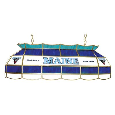 "Trademark Global NCAA 40"" Stained Glass Lighting Fixture"