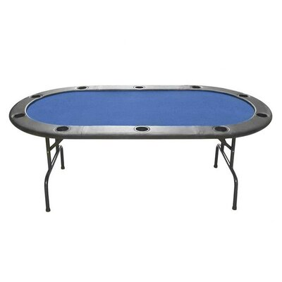 Table Top Color Full Size Texas Hold 'Em Poker Table