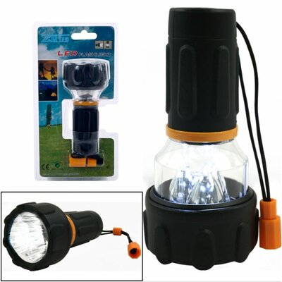 Trademark Global 3 LED Flashlight / Lantern Combo