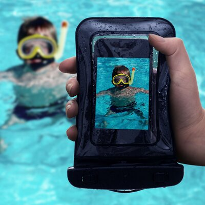 Trademark Global Waterproof Smartphone Case
