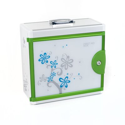 Trademark Global Aluminum Medical First Aid Case