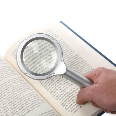 Trademark Global Super Bright 6 LED 4x Magnifying Glass