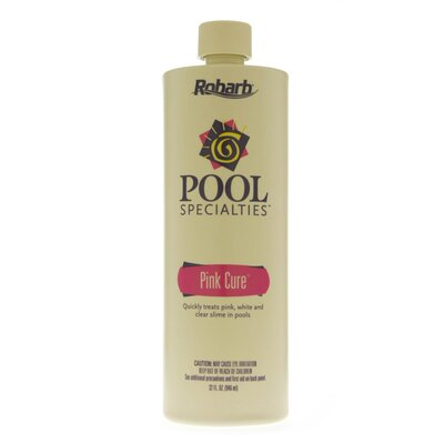 Robarb Pink Cure Water Clarifier for Pools