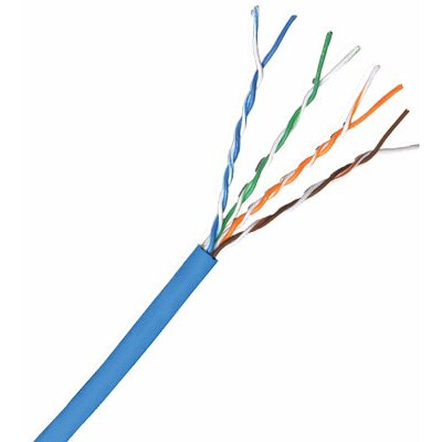 Comprehensive Cat 5e 350MHz Solid Cable in Blue