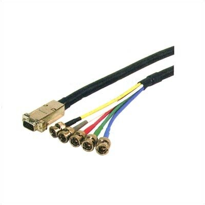 Comprehensive HD15 Male to 5BNC Male Ultra High Resolution Cable