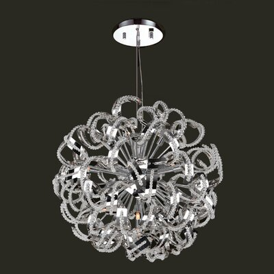 Medusa 13 Light Crystal Chandelier