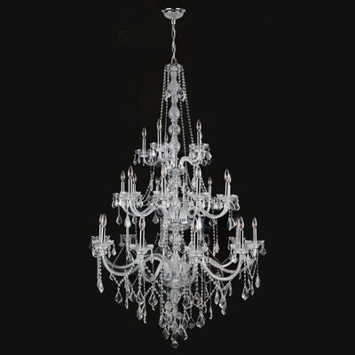 Provence 25 Light Crystal Chandelier