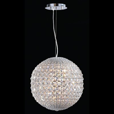 Pluto 8 Light Globe Pendant