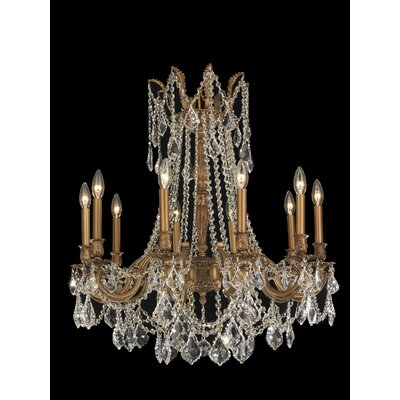 Windsor 10 Light Crystal Chandelier