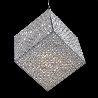 Cube 20 Light Pendant