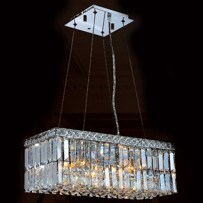 Cascade 4 Light Crystal Chandelier