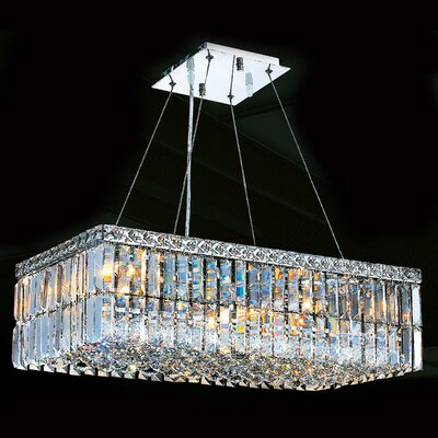 Cascade 6 Light Crystal Chandelier