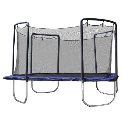 14' Square Trampoline with Enclosure
