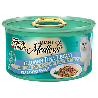 Elegant Medley Tuna Tuscany Cat Food (Case of 24)