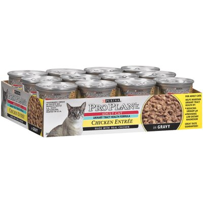 Pro Plan Urinary Tract Health Formula - Chicken Entrée Cat Food (3-oz, case of 24)
