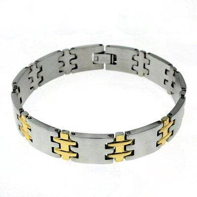 Trendbox Jewelry Square Link Bracelet