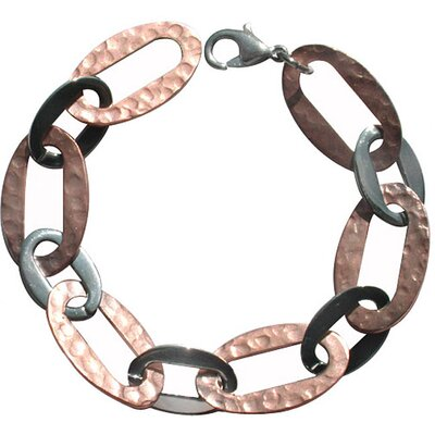 Trendbox Jewelry Two-tone Oval Link Bracelet
