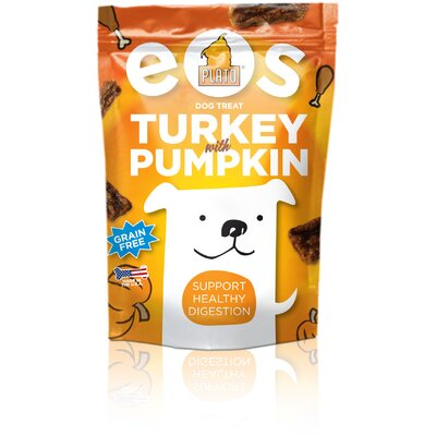 Plato Pet Products Eos Turkey &amp; Pumpkin Dog Treats
