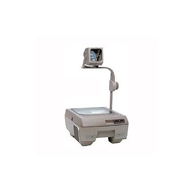 Buhl Closed Head Single Lens Overhead Projector (3000 lumens) with Fold Down Arm