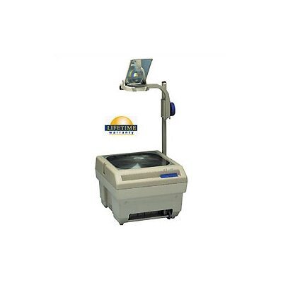 Buhl Open Head Single Lens 2200 Lumens Overhead Projector with Optional Lamp Changer
