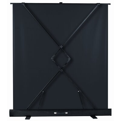 "Buhl Matte White 61"" Diagonal Portable Projection Screen"
