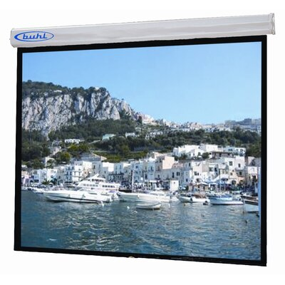 "Buhl Sorrento 96"" x 96"" Electric Projector Screen - 1:1 Format"