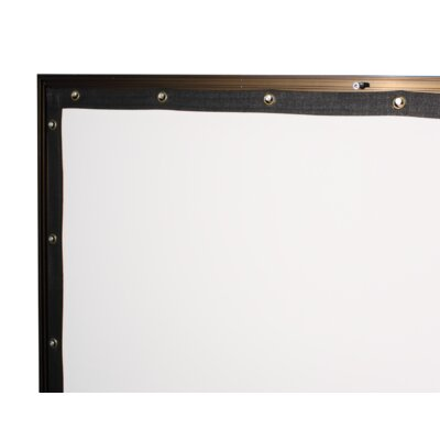 "Buhl Viewable Matte White 110"" Fixed Frame Projector Screen"